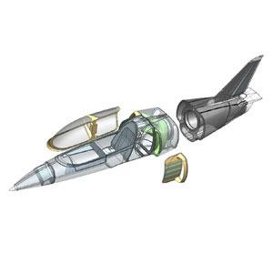 Ultralehký letoun s ventilátorovým pohonem 1