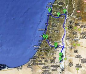 Cesta po Izraeli 2011