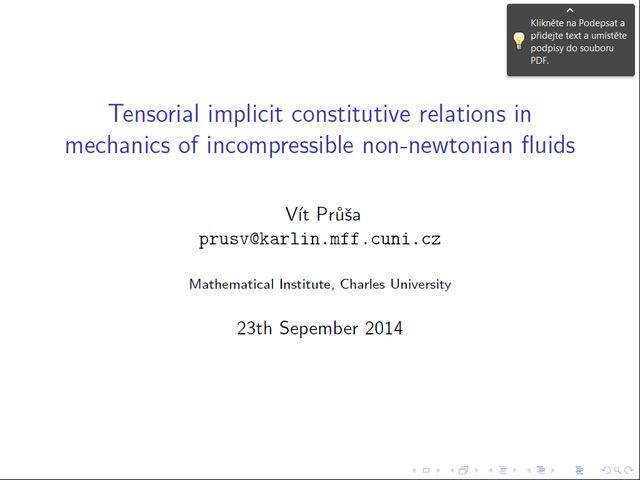 Vt Pra Tensorial Implicit Constitutive Relations In Mechanics