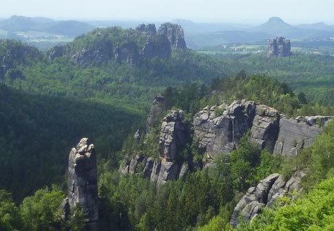 Jak objevili němečtí horolezci české pískovcové oblasti