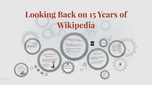 Jan Loužek, Michal Reiter | Looking Back on 15 Years of Wikipedia