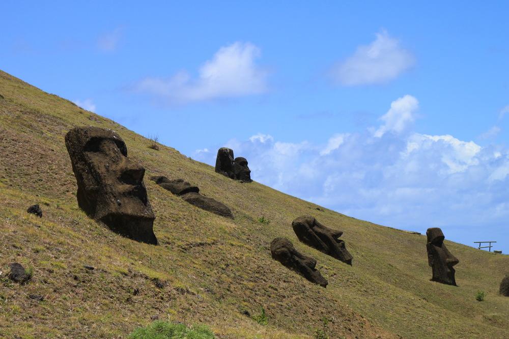 Velikonoční ostrov a Galapágy