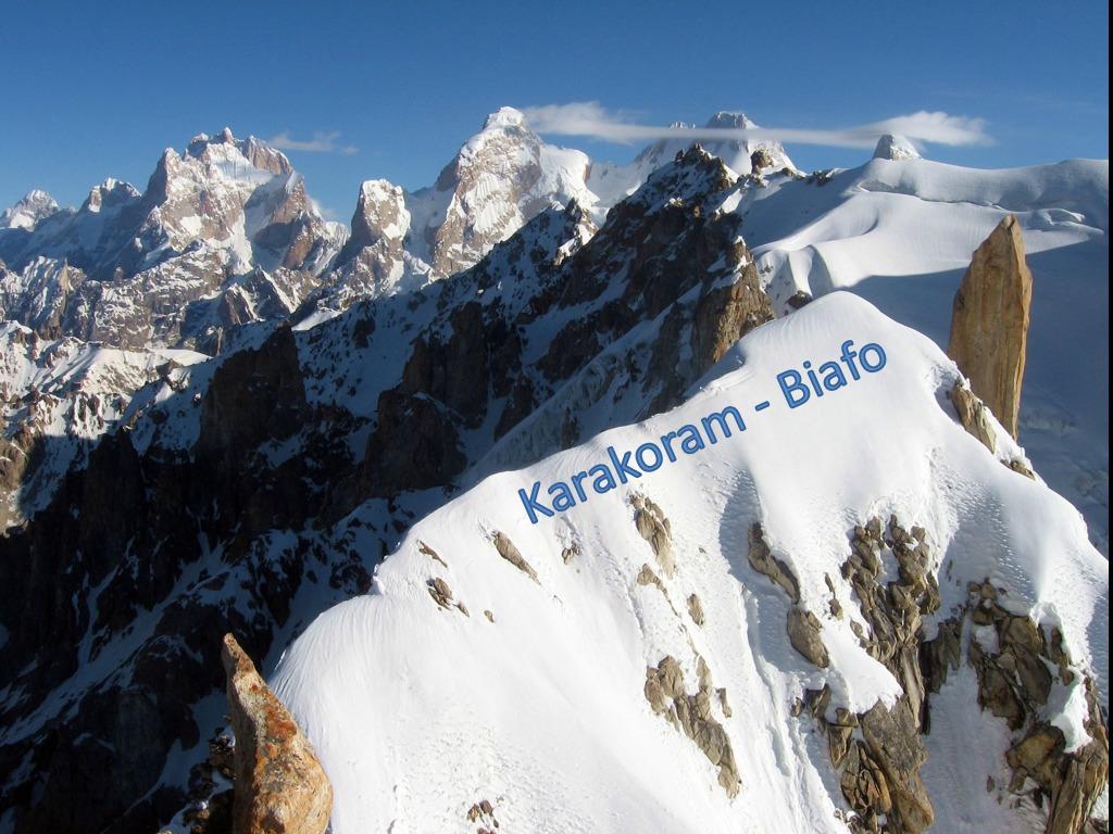 Karakoram  Biafo