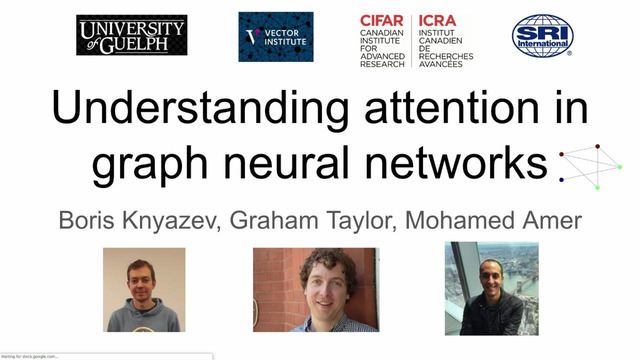 Graham Taylor | Understanding attention in graph neural networks